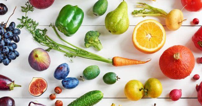 Panier de fruits et légumes écoresponsable